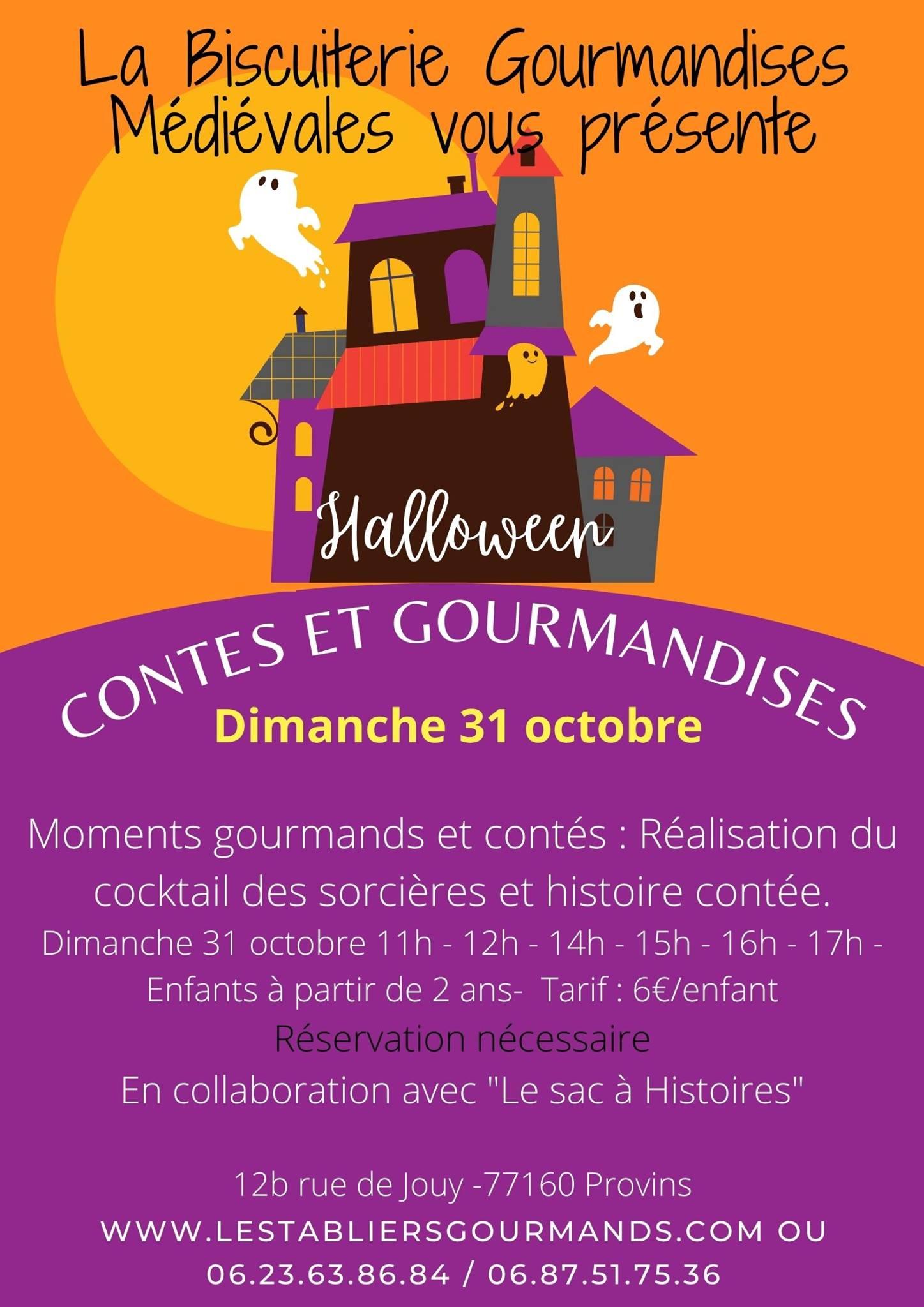 Halloween – Atelier le dimanche 31 octobre